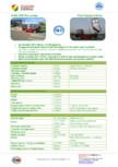 Caracteristici tehnice pentru autobasculanta electrica pentru colectare deseuri ESAGONO ENERGIA - Waste Tipping Collector