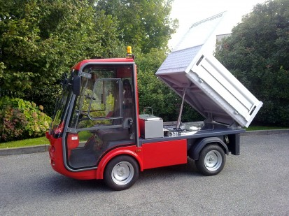 Gastone pick-up short tipper PICK-UP GASTONE Autoutilitare electrice ecologice