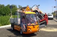 Autoutilitare electrice Gama de produse Esagono cuprinde autoutilitare electrice usoare, cu design modern ce au omologare de tip pentru utilizare pe drumuri publice.