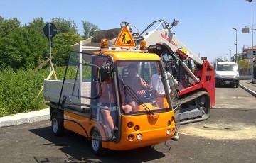 Autoutilitare electrice ecologice Gama de produse Esagono cuprinde autoutilitare electrice usoare, cu design modern ce au omologare de tip pentru utilizare pe drumuri publice.