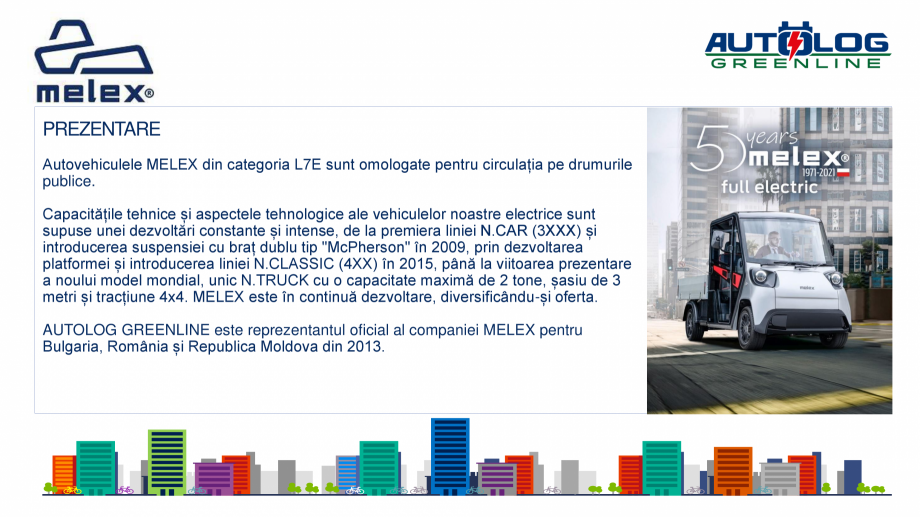 Pagina 4 - Melex Romania- prezentare  Catalog, brosura Romana ru agențiile guvernamentale și...