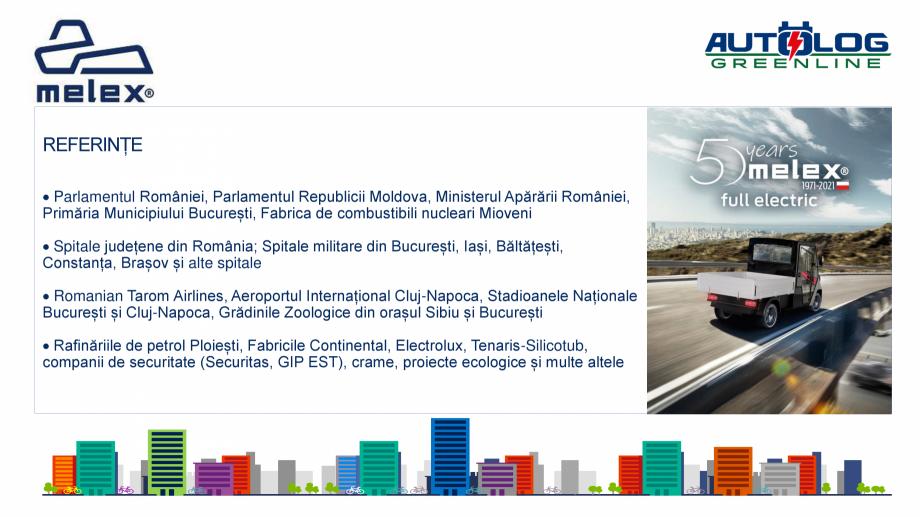 Pagina 10 - Melex Romania- prezentare  Catalog, brosura Romana