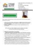 Ferestre din lemn triplu stratificat cu geam termopan STONE ACTIV - Gama Standard