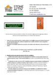 Brosura de prezentare STONE ACTIV - Usi de exterior din lemn stratificat