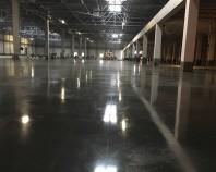 Pardoseli industriale din beton elicopterizat HIROS ROM executa pardoseli industriale armate cu fibre metalice sau cu