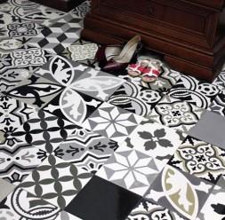 Placute decorative de ciment colorat ARTESANO