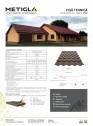 Caracteristici tehnice - Tigla metalica pentru acoperis