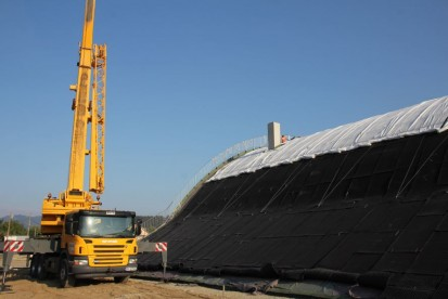 Centrul de Agrement Trotus cu acoperis verde ultrausor 13 Acoperis verde extensiv ultrausor Centrul de Agrement