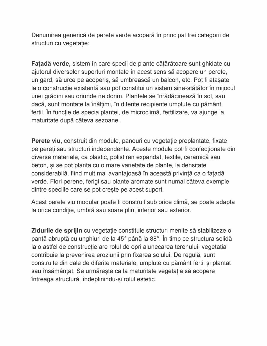 Pagina 2 - Gradini verticale, pereti verzi ODU GREEN ROOF Fatade verzi  Catalog, brosura Romana at, ...