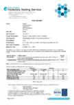 Certificare proprietati ignifuge pentru materialul textil Breeze-Fusion SilentLab - STILL, ABSO
