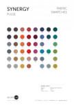 Paletar de culoare pentru materialul textil SYNERGY SilentLab