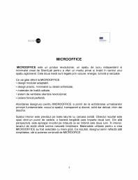 MICROOFFICE- prezentare