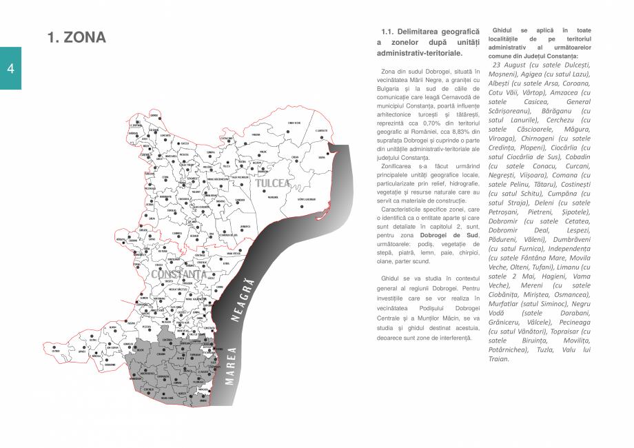 Pagina 6 - Zona Dobrogea de Sud - Ghid de arhitectura pentru incadrarea in specificul local din...