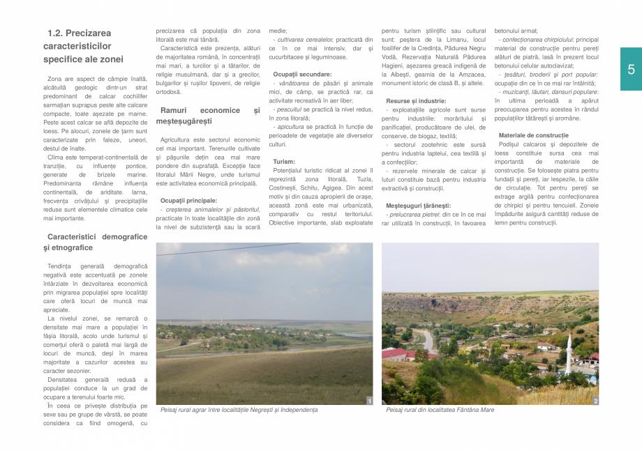Pagina 7 - Zona Dobrogea de Sud - Ghid de arhitectura pentru incadrarea in specificul local din...