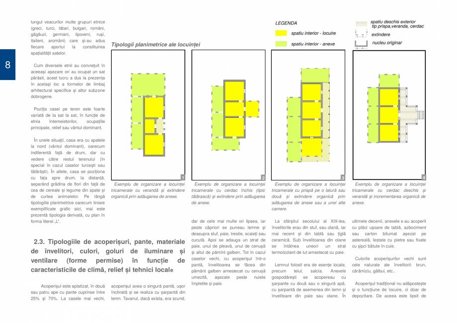 Pagina 10 - Zona Dobrogea de Sud - Ghid de arhitectura pentru incadrarea in specificul local din...