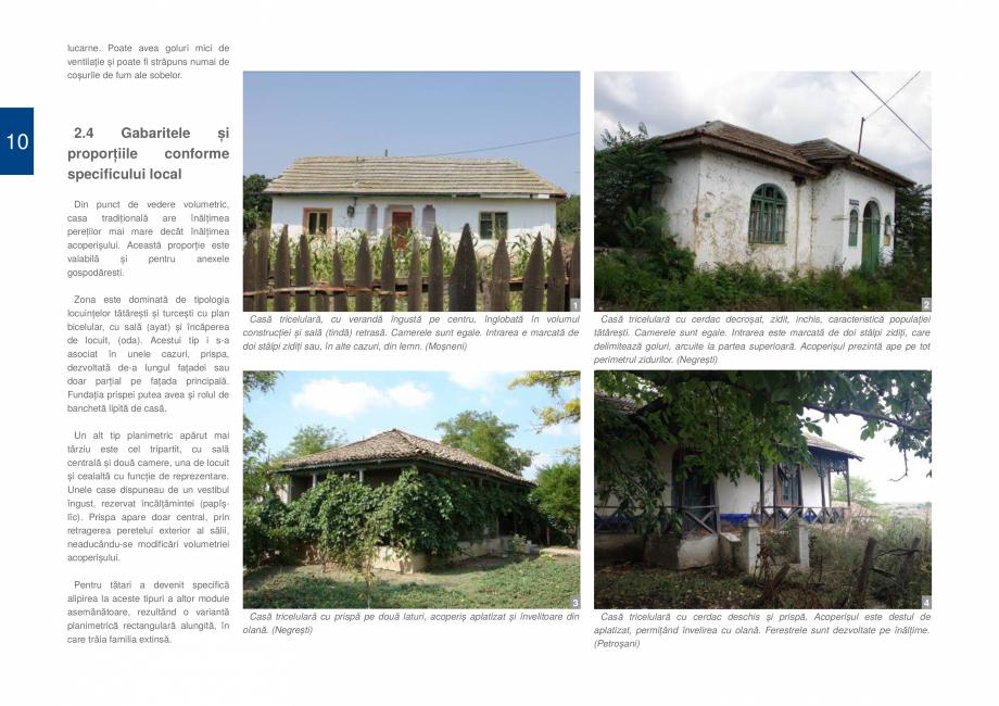 Pagina 12 - Zona Dobrogea de Sud - Ghid de arhitectura pentru incadrarea in specificul local din...