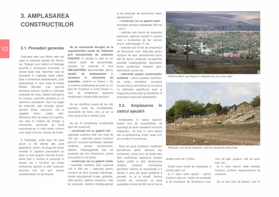 Pagina 14 - Zona Dobrogea de Sud - Ghid de arhitectura pentru incadrarea in specificul local din...