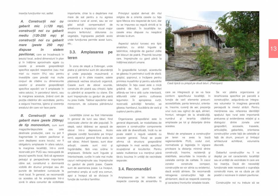 Pagina 15 - Zona Dobrogea de Sud - Ghid de arhitectura pentru incadrarea in specificul local din...