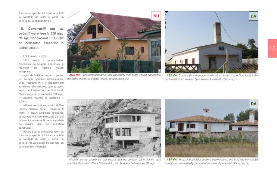 Pagina 17 - Zona Dobrogea de Sud - Ghid de arhitectura pentru incadrarea in specificul local din...