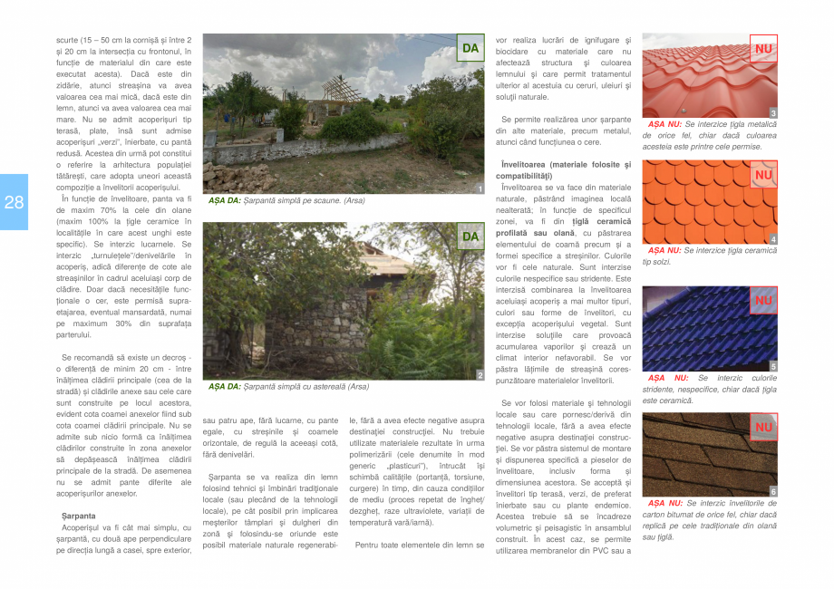 Pagina 30 - Zona Dobrogea de Sud - Ghid de arhitectura pentru incadrarea in specificul local din...