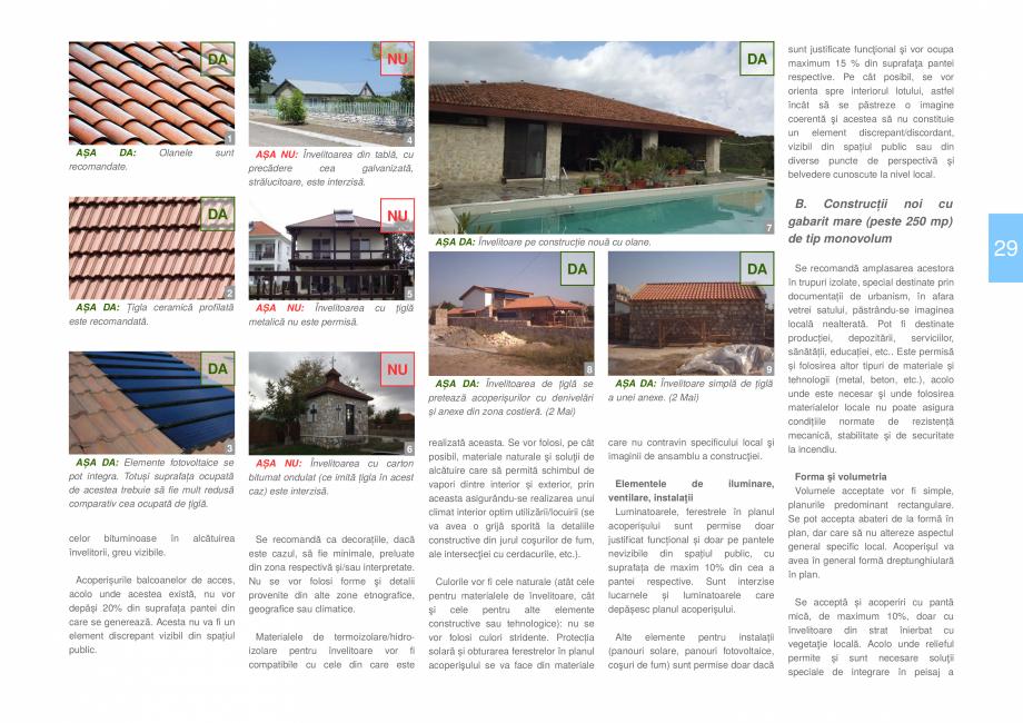 Pagina 31 - Zona Dobrogea de Sud - Ghid de arhitectura pentru incadrarea in specificul local din...