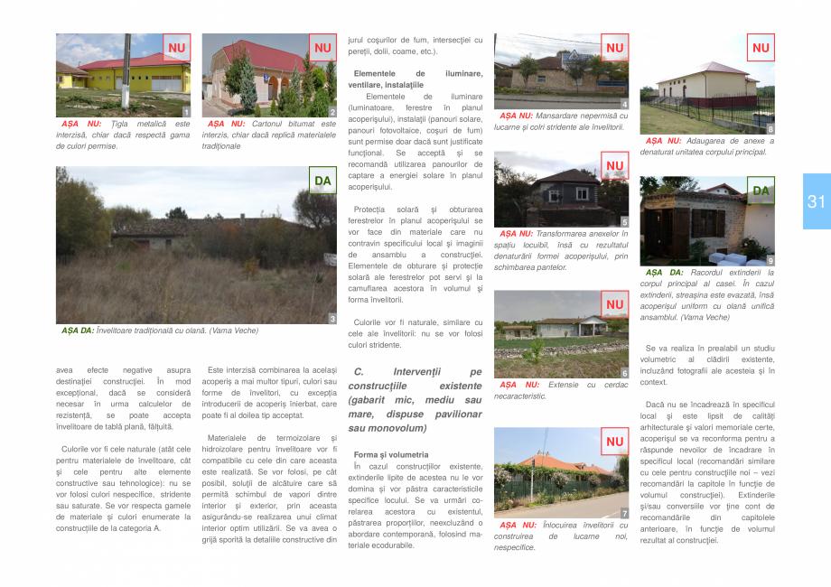 Pagina 33 - Zona Dobrogea de Sud - Ghid de arhitectura pentru incadrarea in specificul local din...