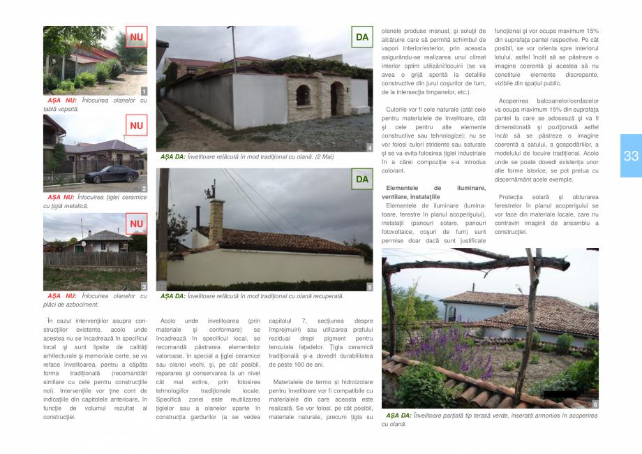 Pagina 35 - Zona Dobrogea de Sud - Ghid de arhitectura pentru incadrarea in specificul local din...