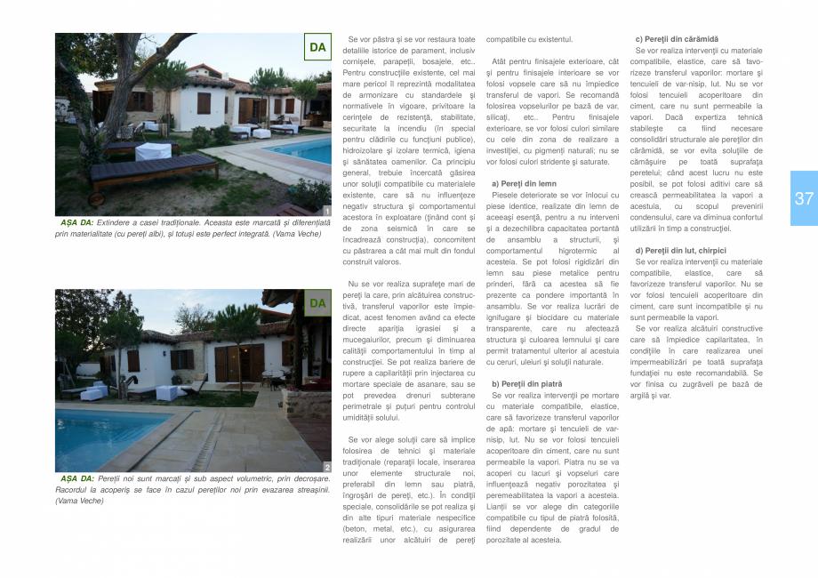 Pagina 39 - Zona Dobrogea de Sud - Ghid de arhitectura pentru incadrarea in specificul local din...