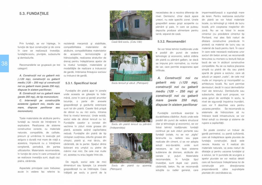Pagina 40 - Zona Dobrogea de Sud - Ghid de arhitectura pentru incadrarea in specificul local din...
