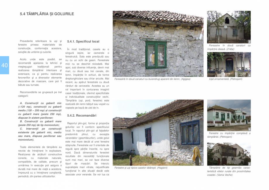 Pagina 42 - Zona Dobrogea de Sud - Ghid de arhitectura pentru incadrarea in specificul local din...