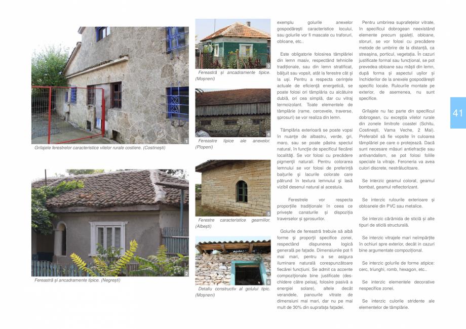Pagina 43 - Zona Dobrogea de Sud - Ghid de arhitectura pentru incadrarea in specificul local din...