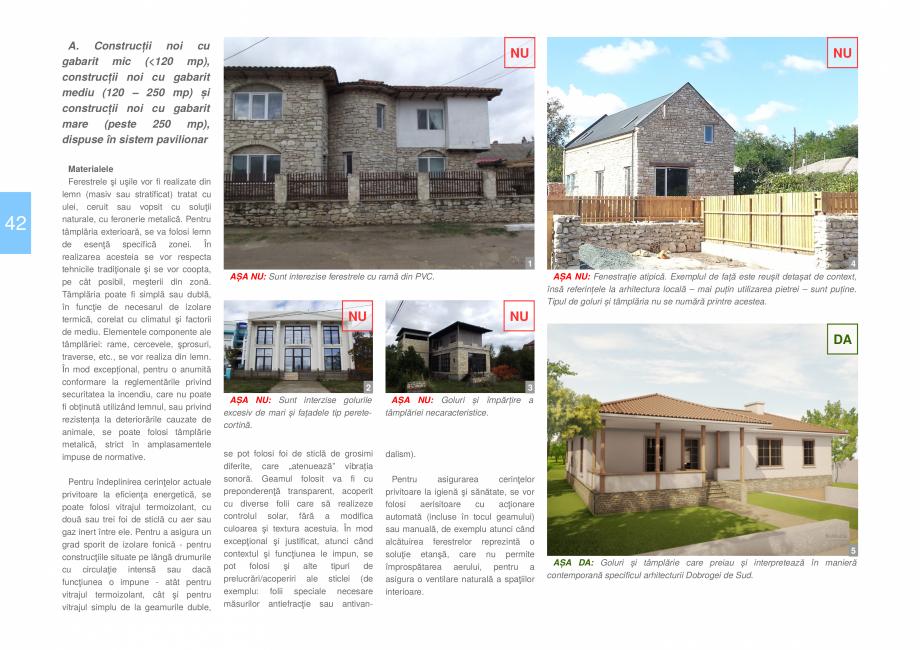 Pagina 44 - Zona Dobrogea de Sud - Ghid de arhitectura pentru incadrarea in specificul local din...
