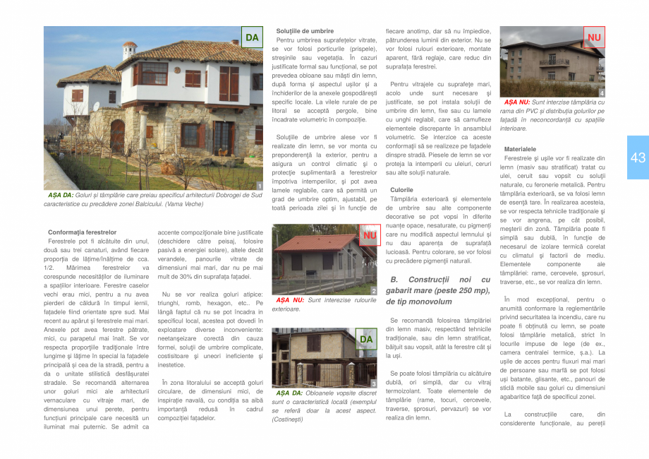 Pagina 45 - Zona Dobrogea de Sud - Ghid de arhitectura pentru incadrarea in specificul local din...
