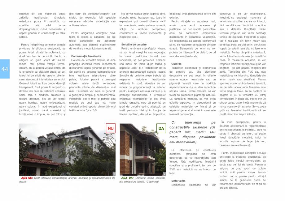 Pagina 46 - Zona Dobrogea de Sud - Ghid de arhitectura pentru incadrarea in specificul local din...