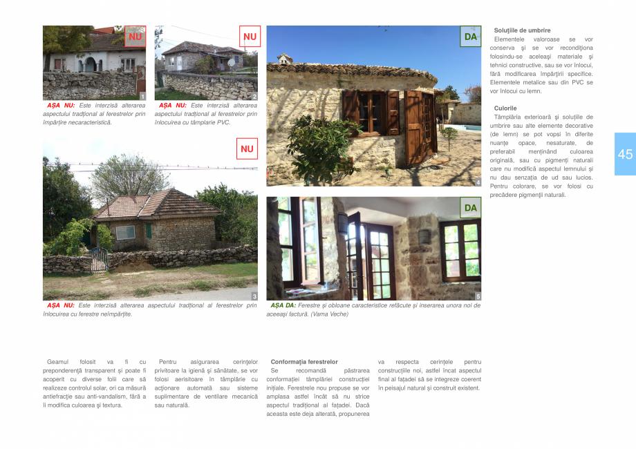 Pagina 47 - Zona Dobrogea de Sud - Ghid de arhitectura pentru incadrarea in specificul local din...