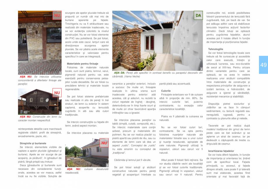 Pagina 51 - Zona Dobrogea de Sud - Ghid de arhitectura pentru incadrarea in specificul local din...