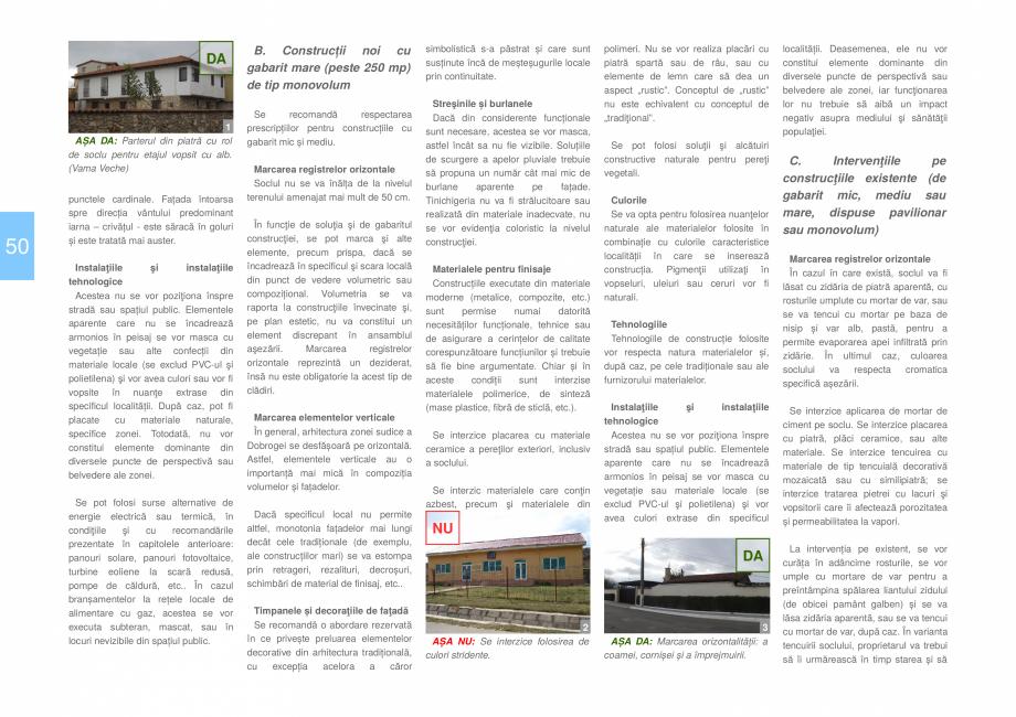 Pagina 52 - Zona Dobrogea de Sud - Ghid de arhitectura pentru incadrarea in specificul local din...