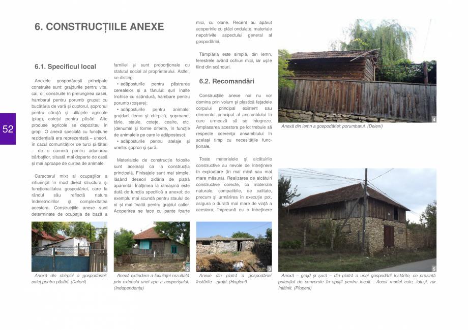 Pagina 54 - Zona Dobrogea de Sud - Ghid de arhitectura pentru incadrarea in specificul local din...