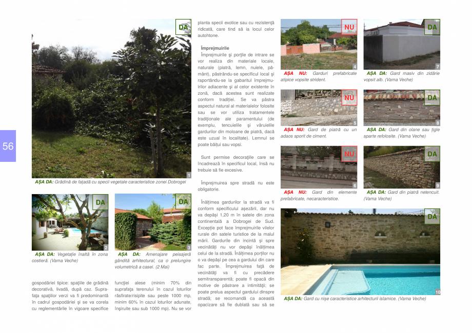 Pagina 58 - Zona Dobrogea de Sud - Ghid de arhitectura pentru incadrarea in specificul local din...