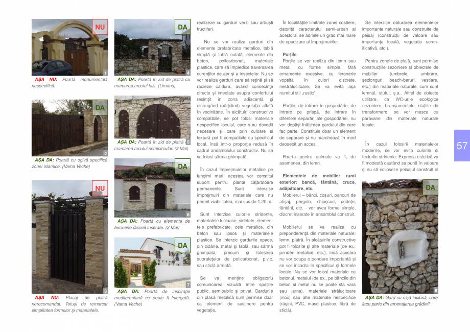 Pagina 59 - Zona Dobrogea de Sud - Ghid de arhitectura pentru incadrarea in specificul local din...