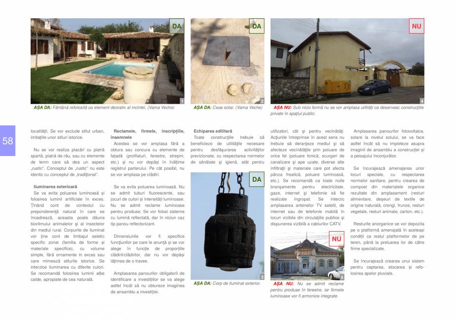 Pagina 60 - Zona Dobrogea de Sud - Ghid de arhitectura pentru incadrarea in specificul local din...