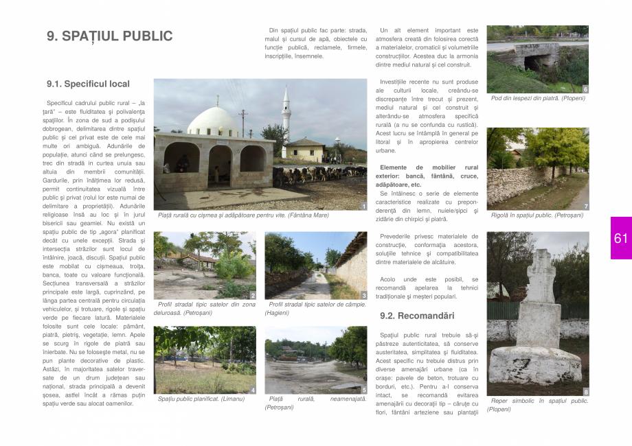 Pagina 63 - Zona Dobrogea de Sud - Ghid de arhitectura pentru incadrarea in specificul local din...