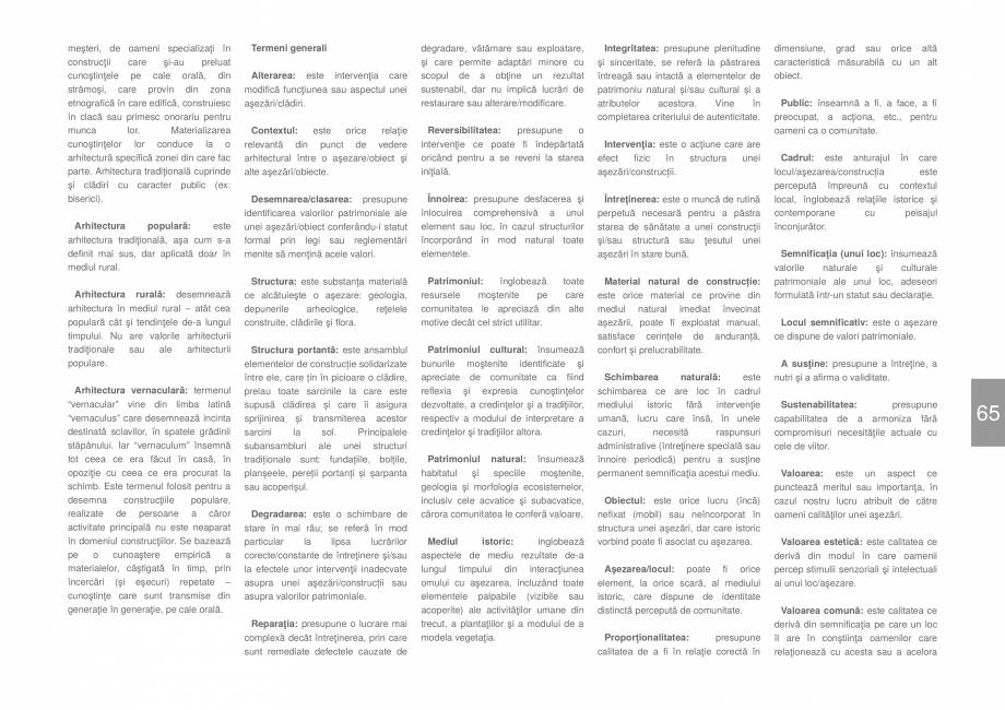 Pagina 67 - Zona Dobrogea de Sud - Ghid de arhitectura pentru incadrarea in specificul local din...