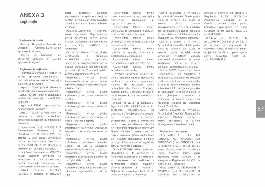 Pagina 69 - Zona Dobrogea de Sud - Ghid de arhitectura pentru incadrarea in specificul local din...