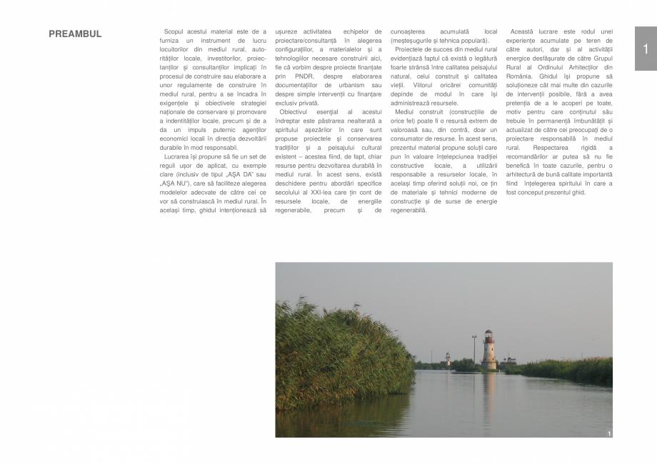Pagina 3 - Zona Delta Dunarii - Ghid de arhitectura pentru incadrarea in specificul local din mediul...