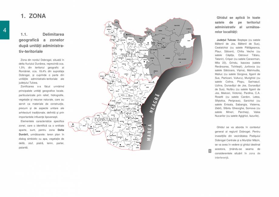 Pagina 6 - Zona Delta Dunarii - Ghid de arhitectura pentru incadrarea in specificul local din mediul...