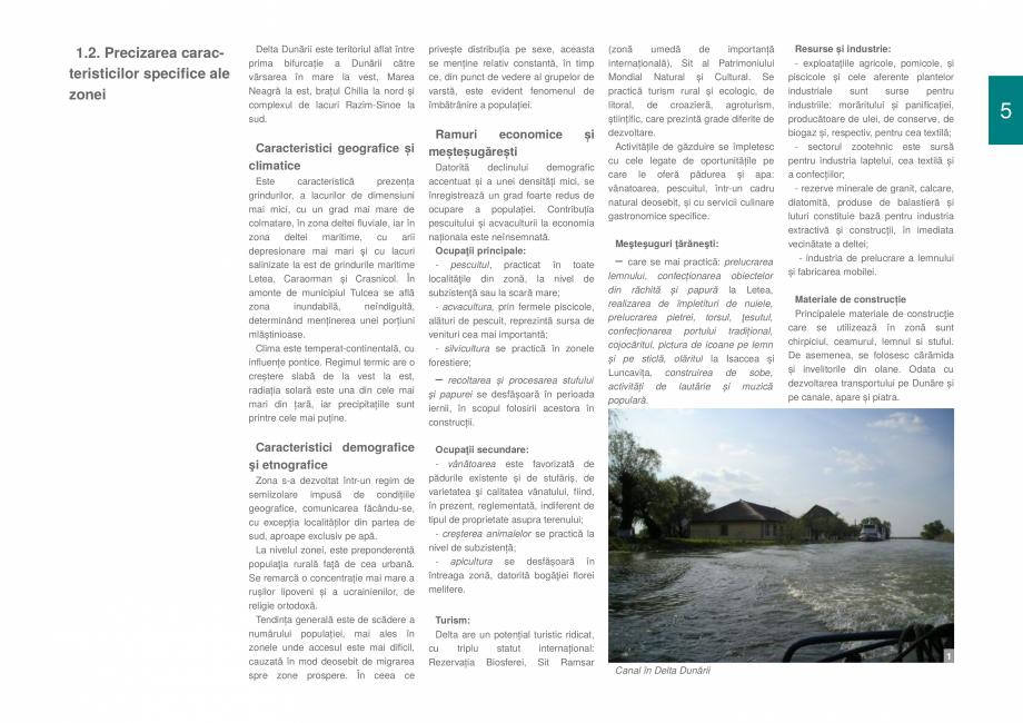 Pagina 7 - Zona Delta Dunarii - Ghid de arhitectura pentru incadrarea in specificul local din mediul...