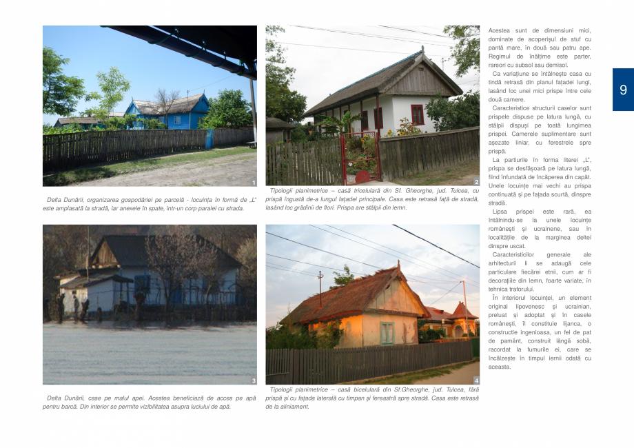 Pagina 11 - Zona Delta Dunarii - Ghid de arhitectura pentru incadrarea in specificul local din...