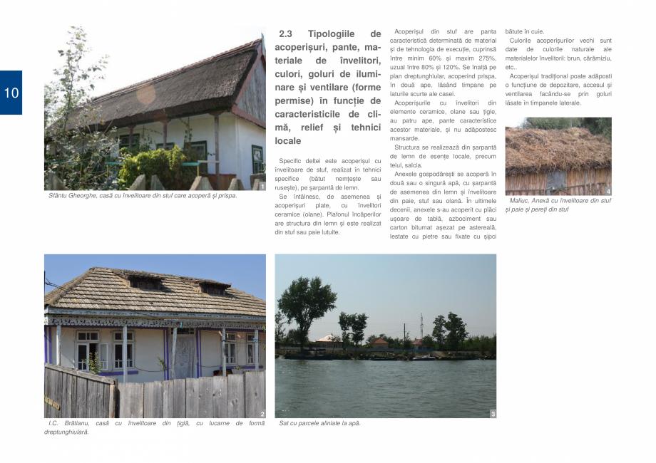 Pagina 12 - Zona Delta Dunarii - Ghid de arhitectura pentru incadrarea in specificul local din...