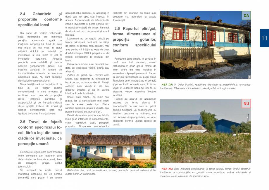 Pagina 13 - Zona Delta Dunarii - Ghid de arhitectura pentru incadrarea in specificul local din...